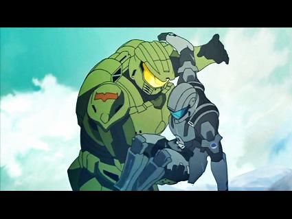 Animation Wednesday Halo Legends Gentlemen Behold