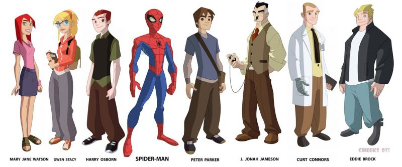 Spectacular Spider-Man Characters